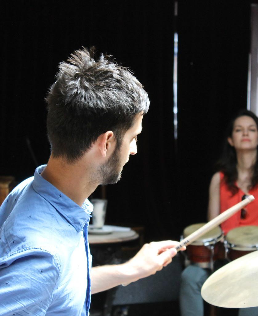Workshop led by Canadian drummer Adam Teixeira