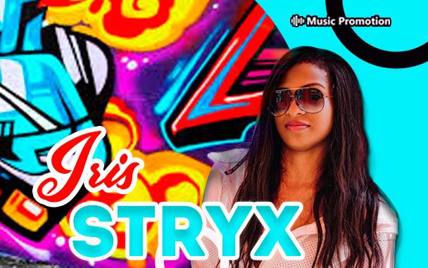 Bahamas female hiphop artist Iris Stryx