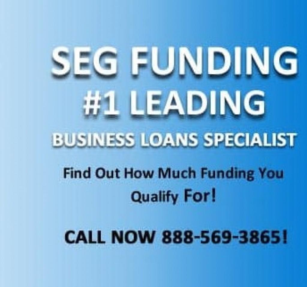 SEG Funding 1 Leading Business Loans Specialist