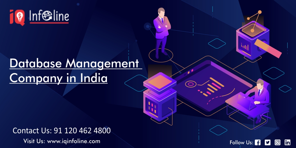 Database management company in india