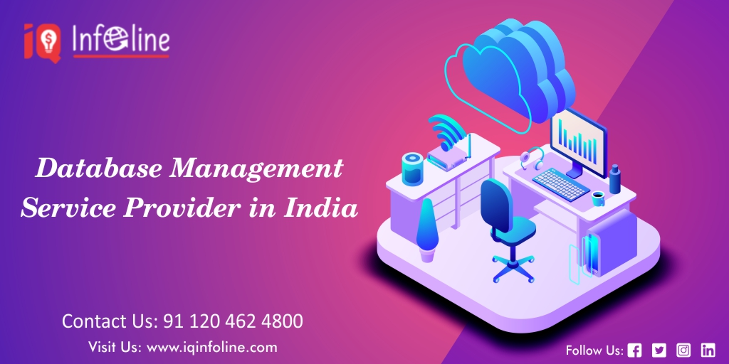 Database management service provider in india