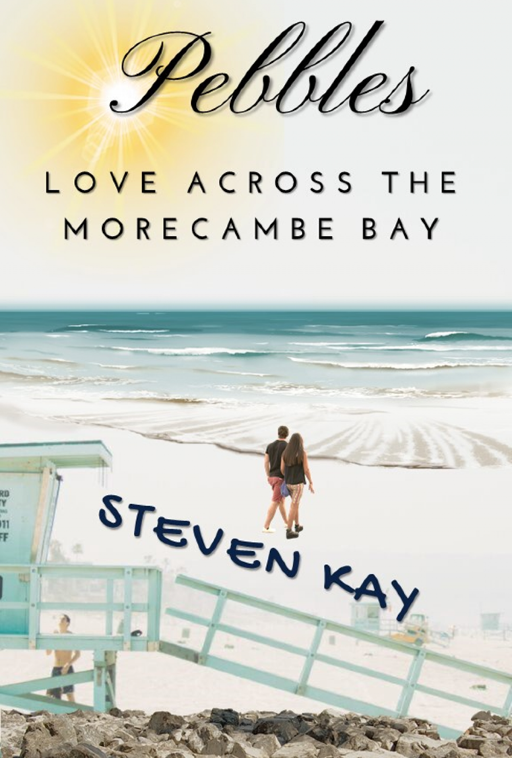 Pebbles Love Across the Morecambe Bay by Steven Kay