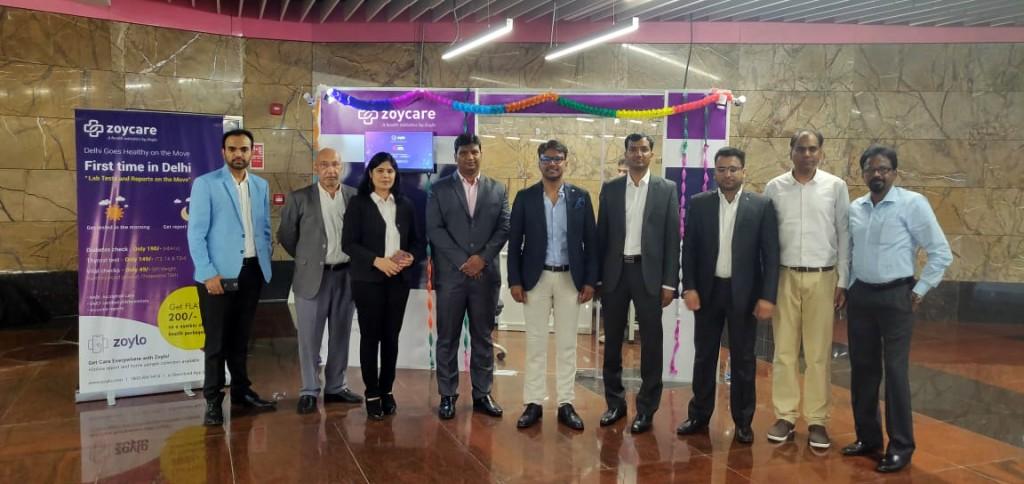 ZoyCare Health Kiosks at Delhi Metro