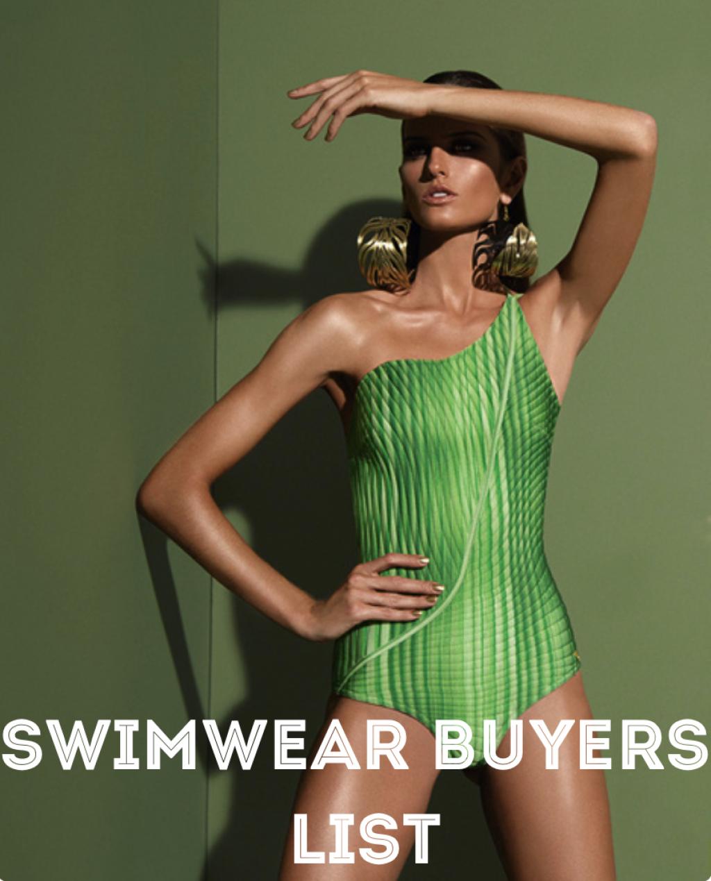 Swimwear Buyers List 500