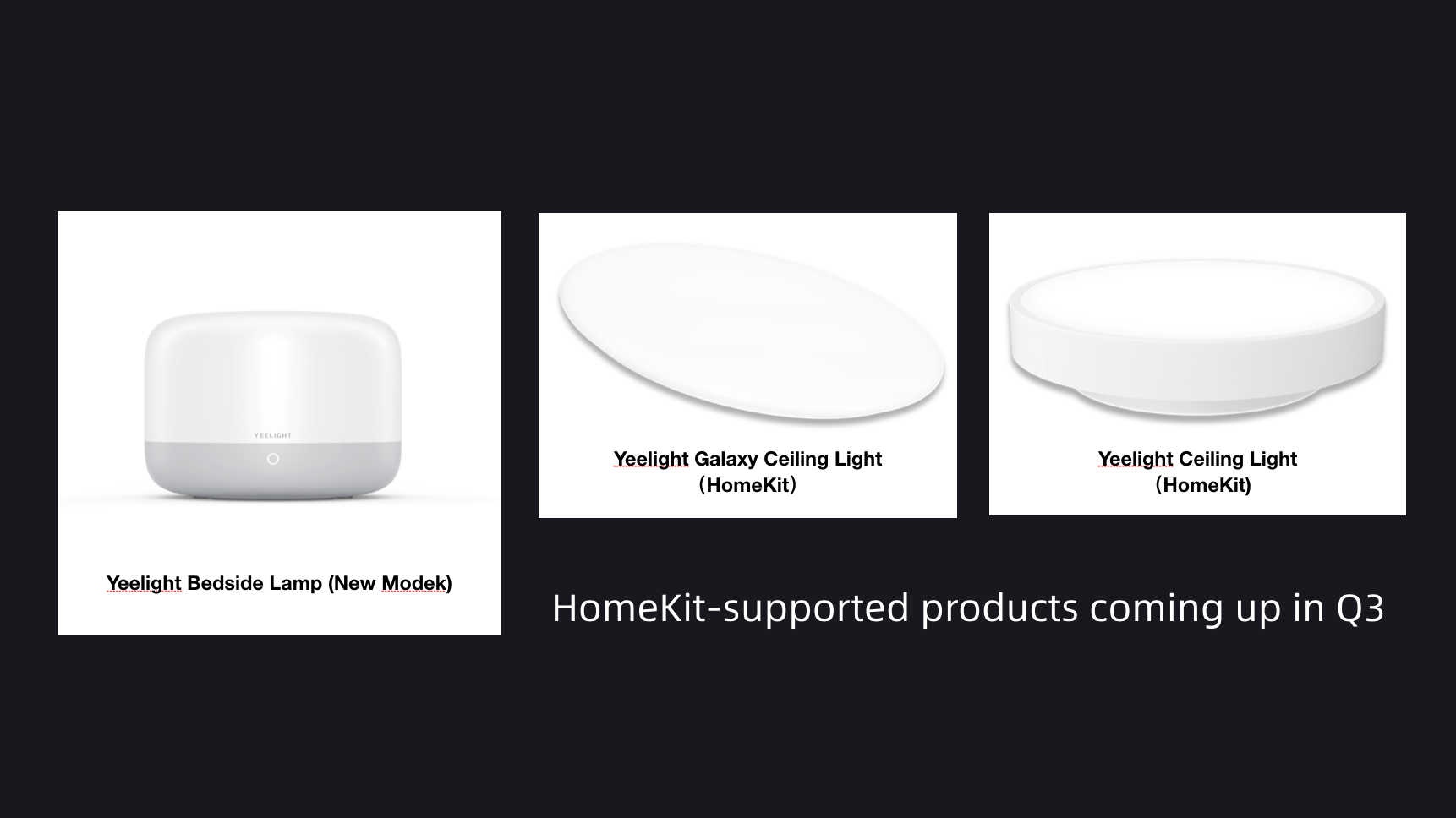 More products Supporting HomeKit Released in Q3