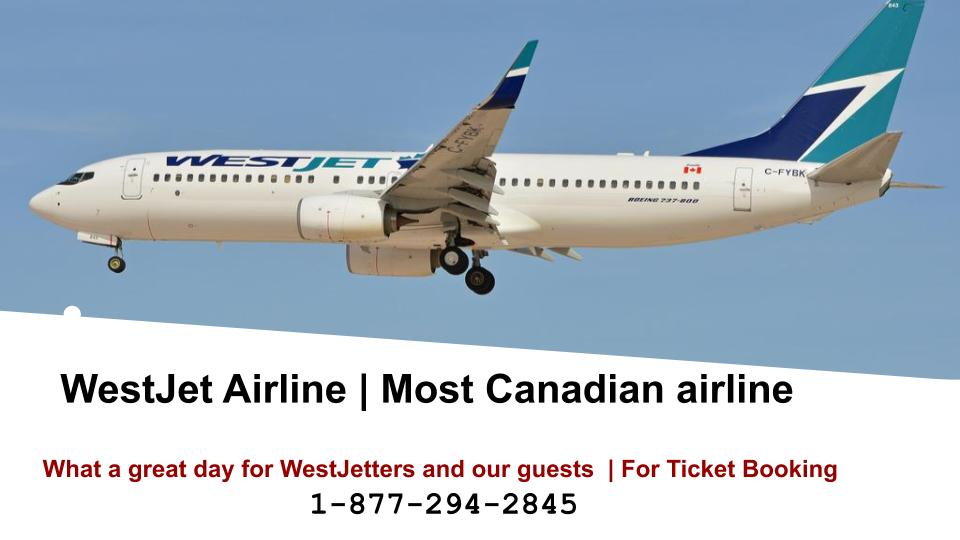 WestJet Airlines Tickets Offers