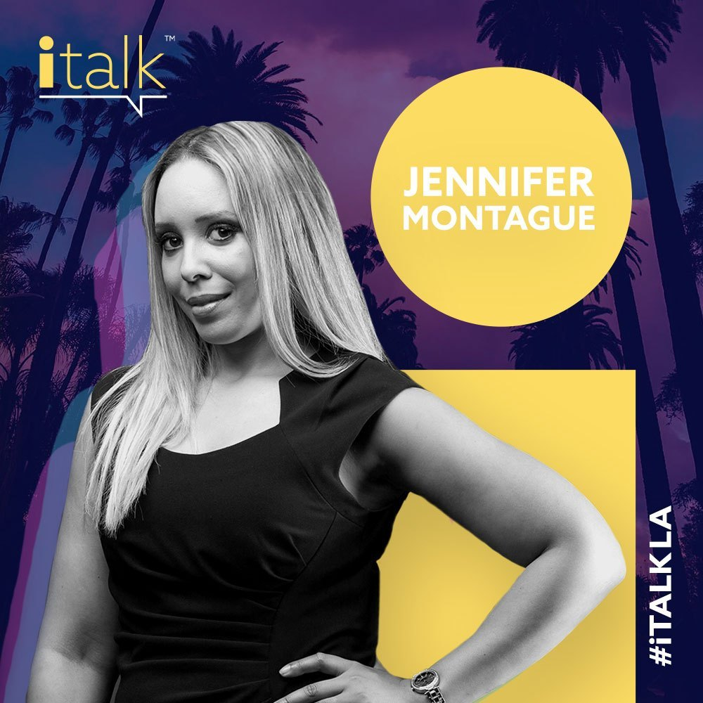 Jen Montague cofounder and Sr Director of ITalk