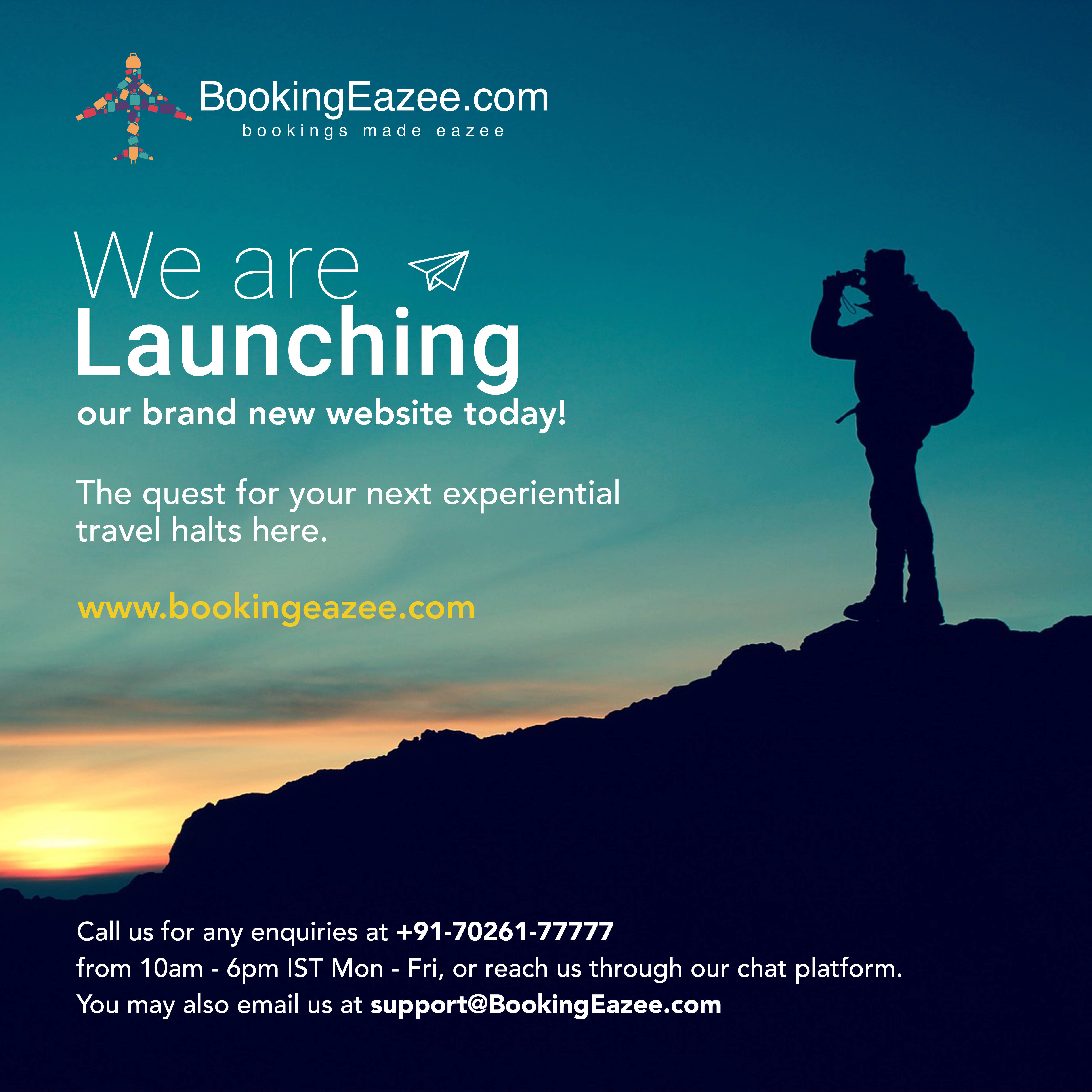 BookingEazeecom A Brand New Website Launched