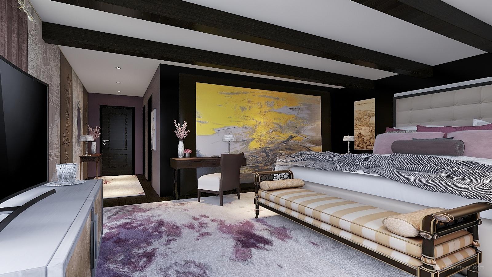 Huntr Boutique Hotel  Premium King Room Design Sample