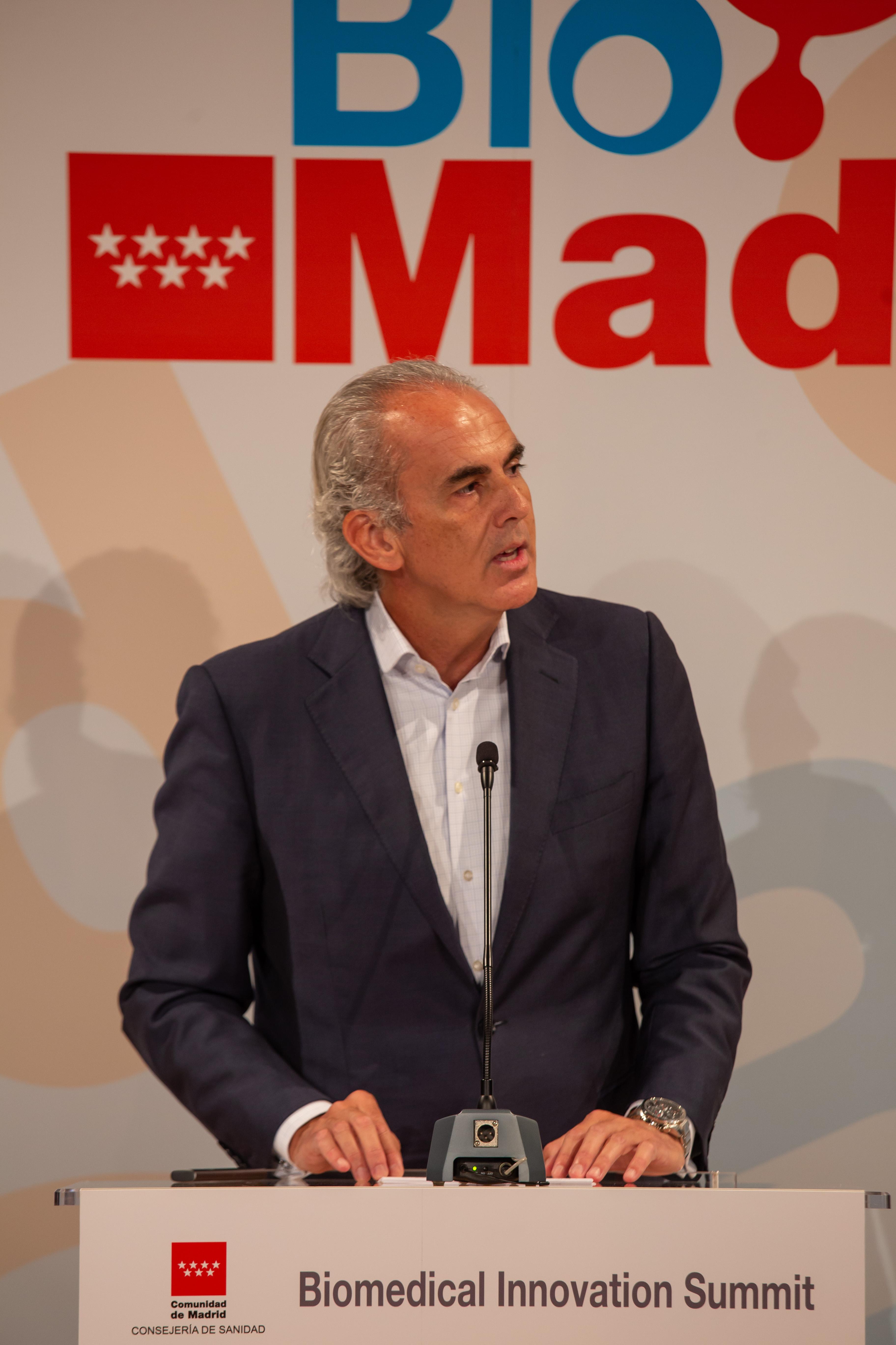 Inauguration Minister Enrique Ruiz Escudero