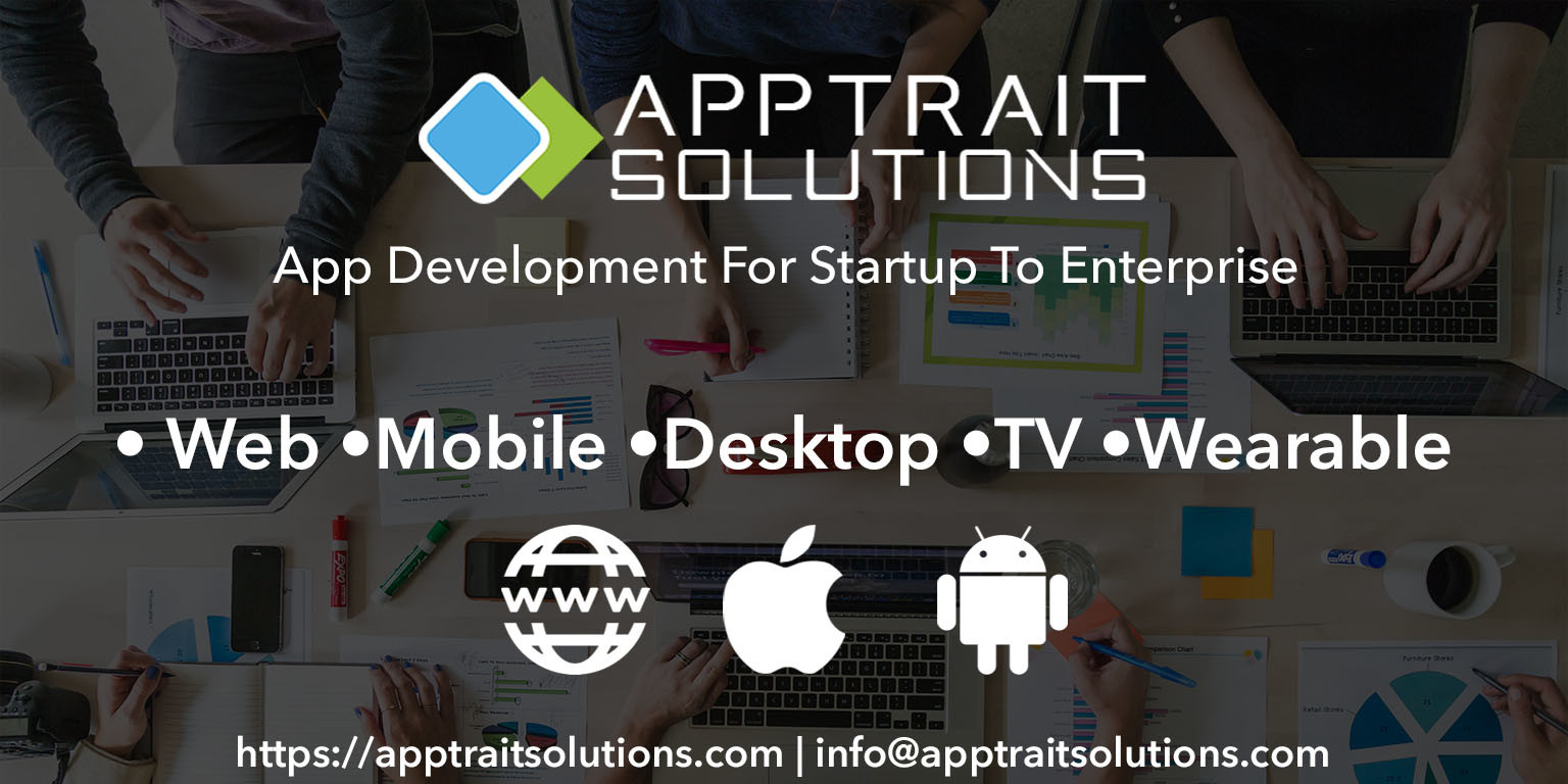 Best mobile app development company  AppTrait Solutions