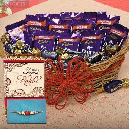 Rakhi With Chocolate
