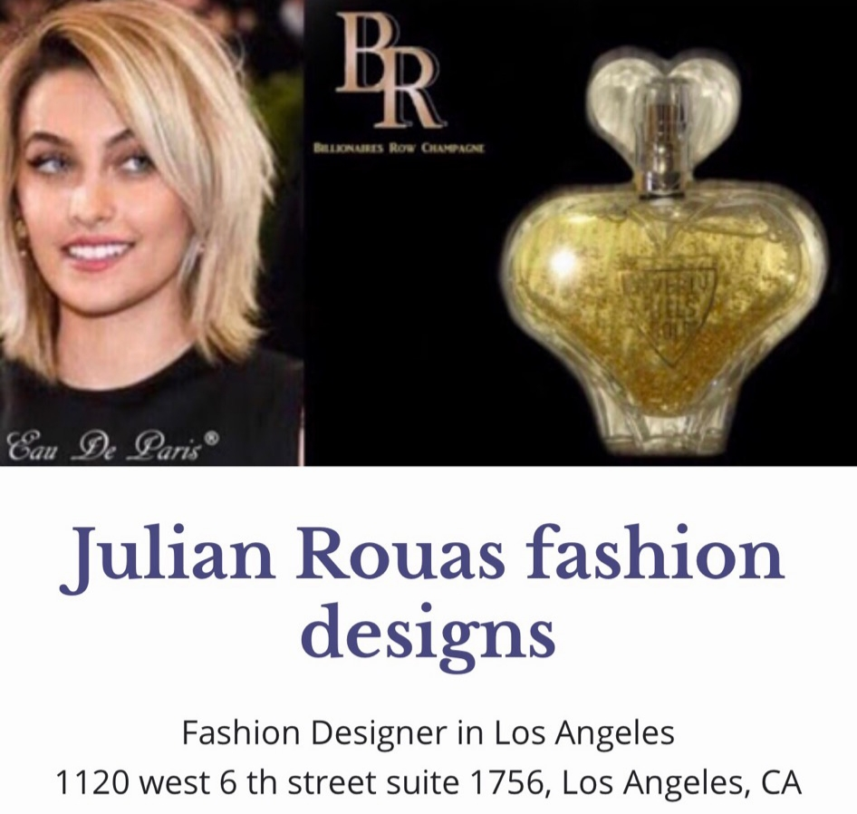 Paris Jackson Teams Up With Julian Rouas Paris To Release Her First Fragrance Issuewire