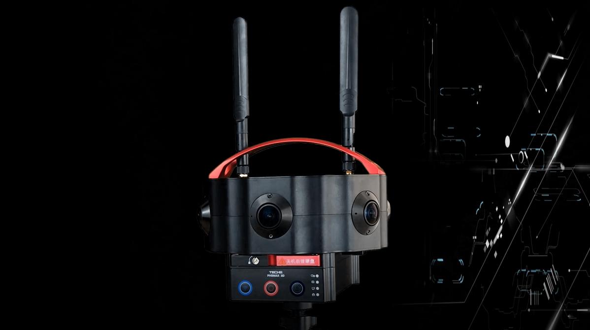 8K 360 camera