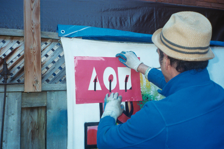 A01 Spray Paint Tag