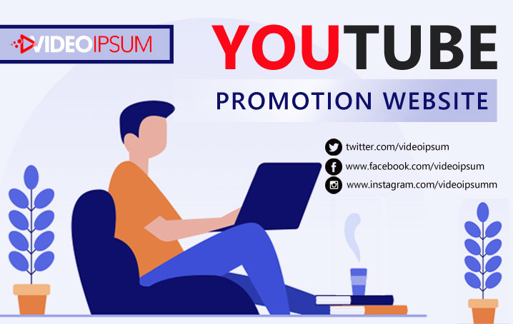 YouTube video promotion website