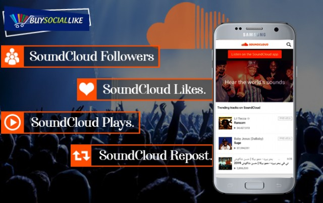 Avail Soundcloud Marketing Service from Buy Social Like to build