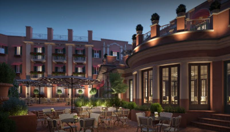 ROCCO FORTE HOTELS OPENS HOTEL DE LA VILLE