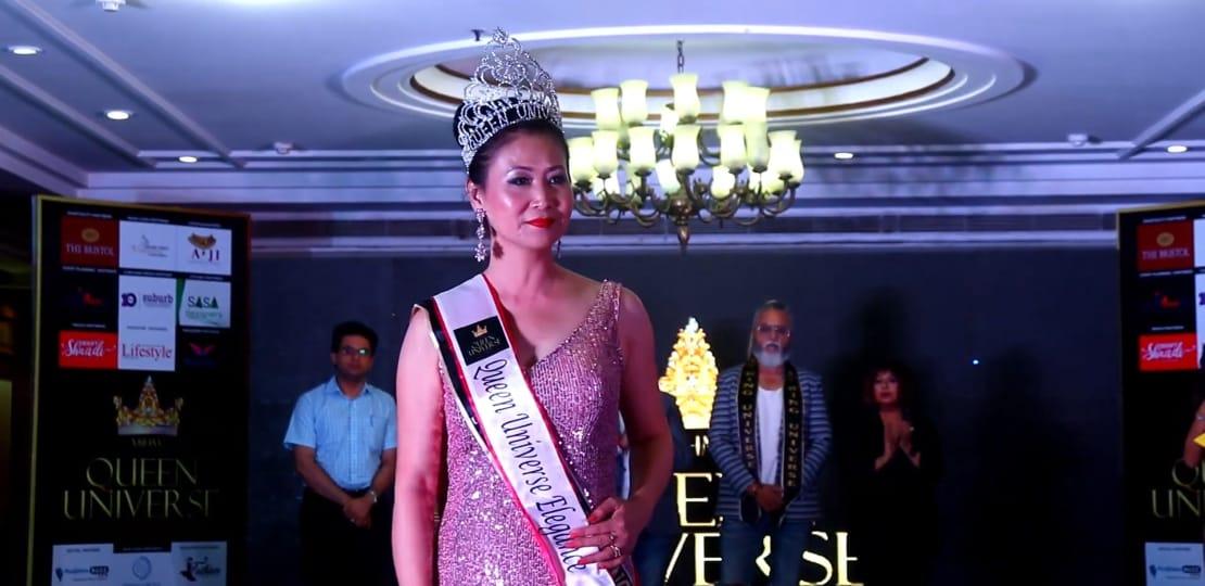 Delhite crowned as Ms Queen Universe Elegance 2019