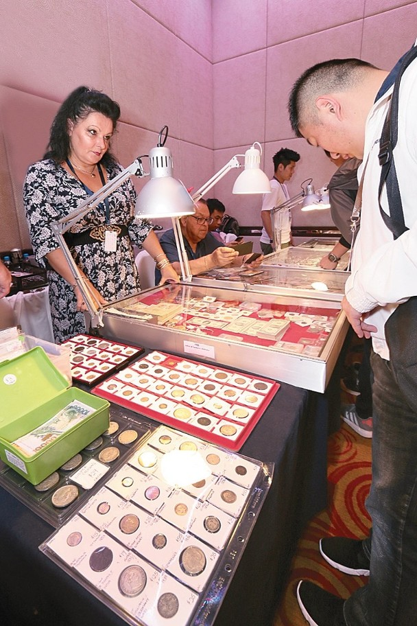 Exhibitors all over the world displaying various kinds of collectibles