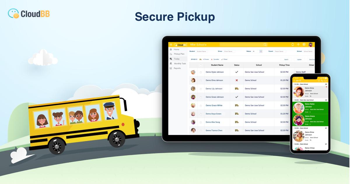 CloudBB Student Pickup Management Software