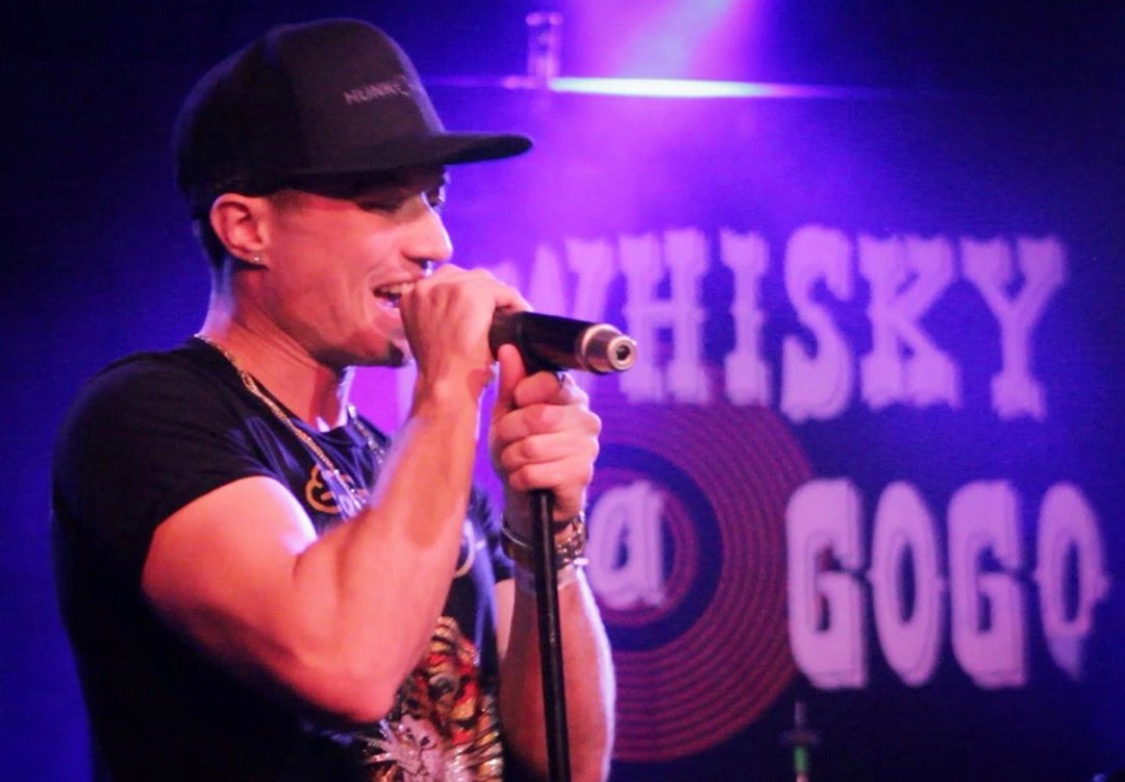 Leon Budrow performs at The Whisky a Go Go