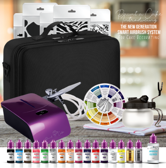 The Cake Decorating Airbrush Kit From Paint A Cake Is Every