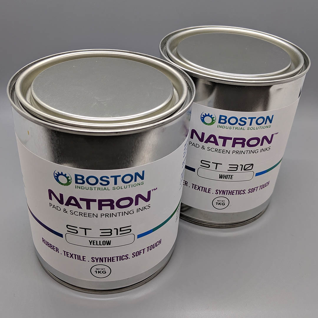 Natron ST Series pad printing ink for soft touch