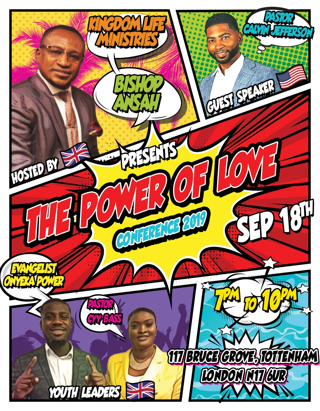 Kingdom Life Ministries  The power of Love Sept 18th   Bruce Grove