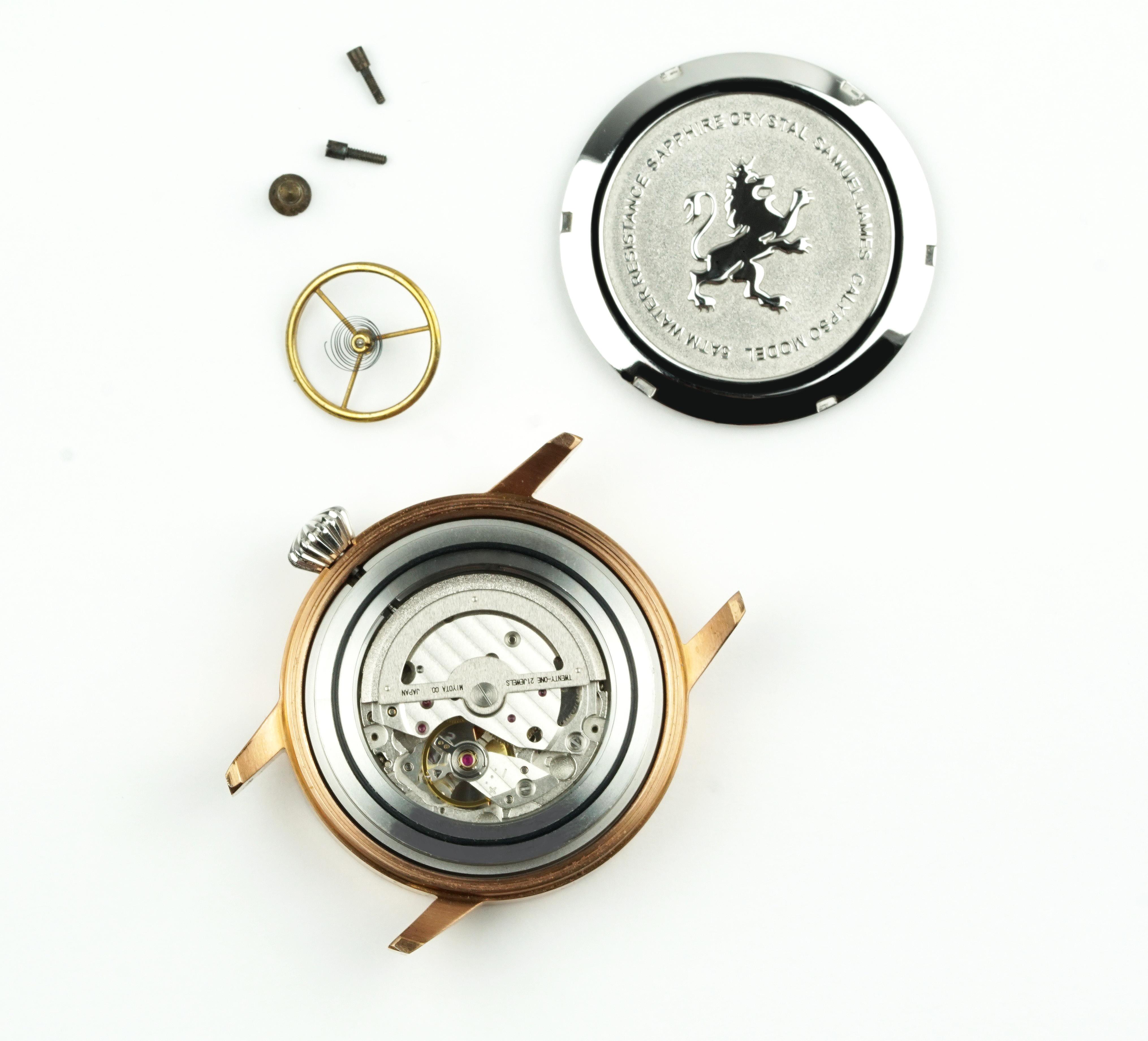Samuel James Watches Timepiece