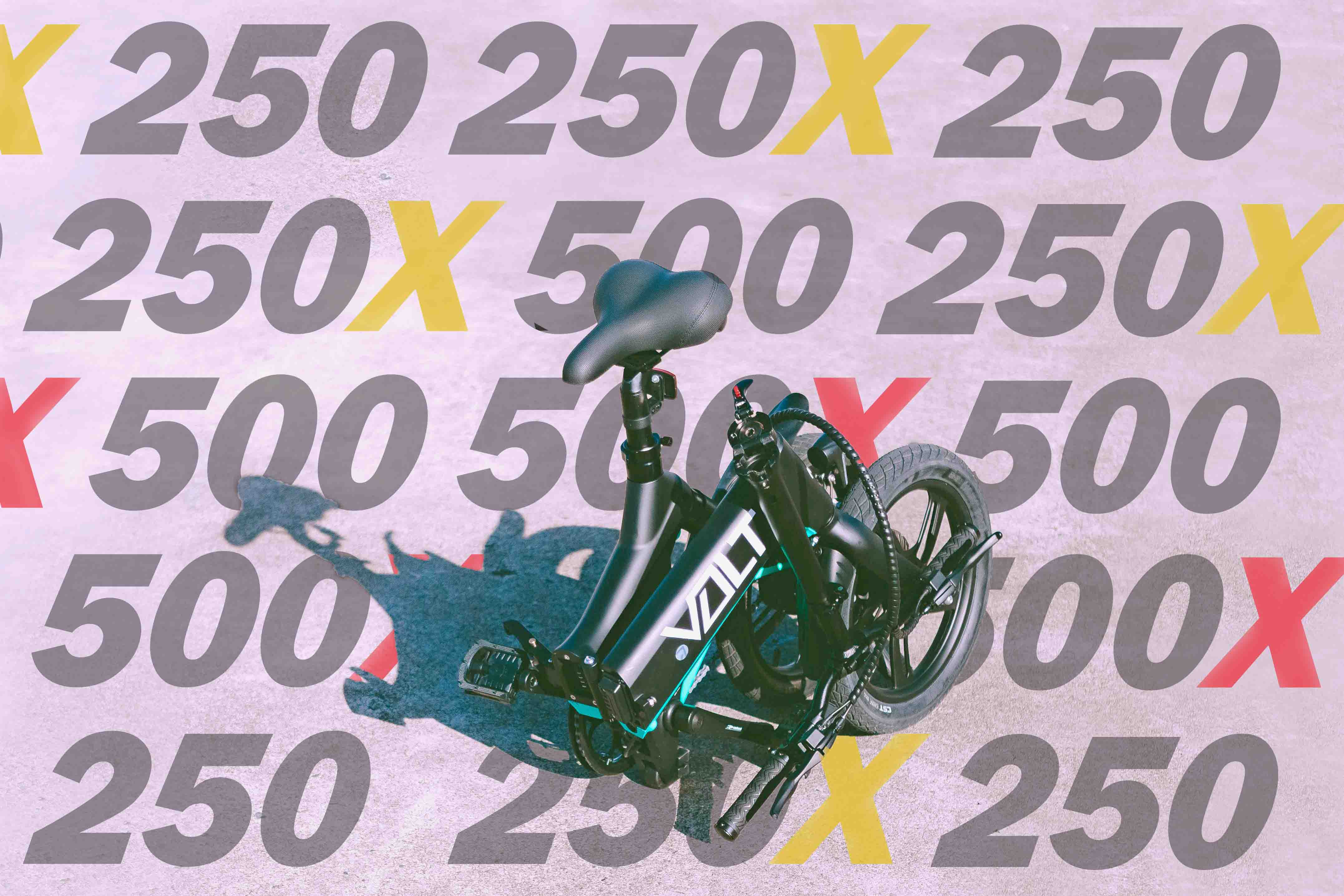 Promotional graphic of the VOLT 250 series in