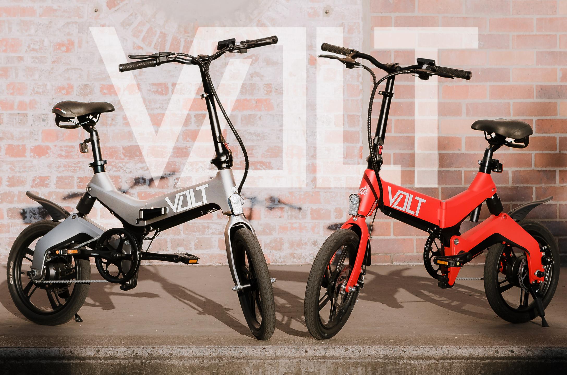 The VOLT 250 folding electric bike in