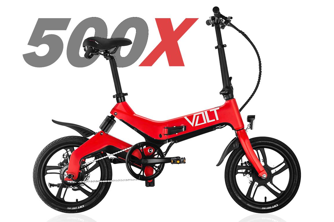 The VOLT 500X folding electric bike in