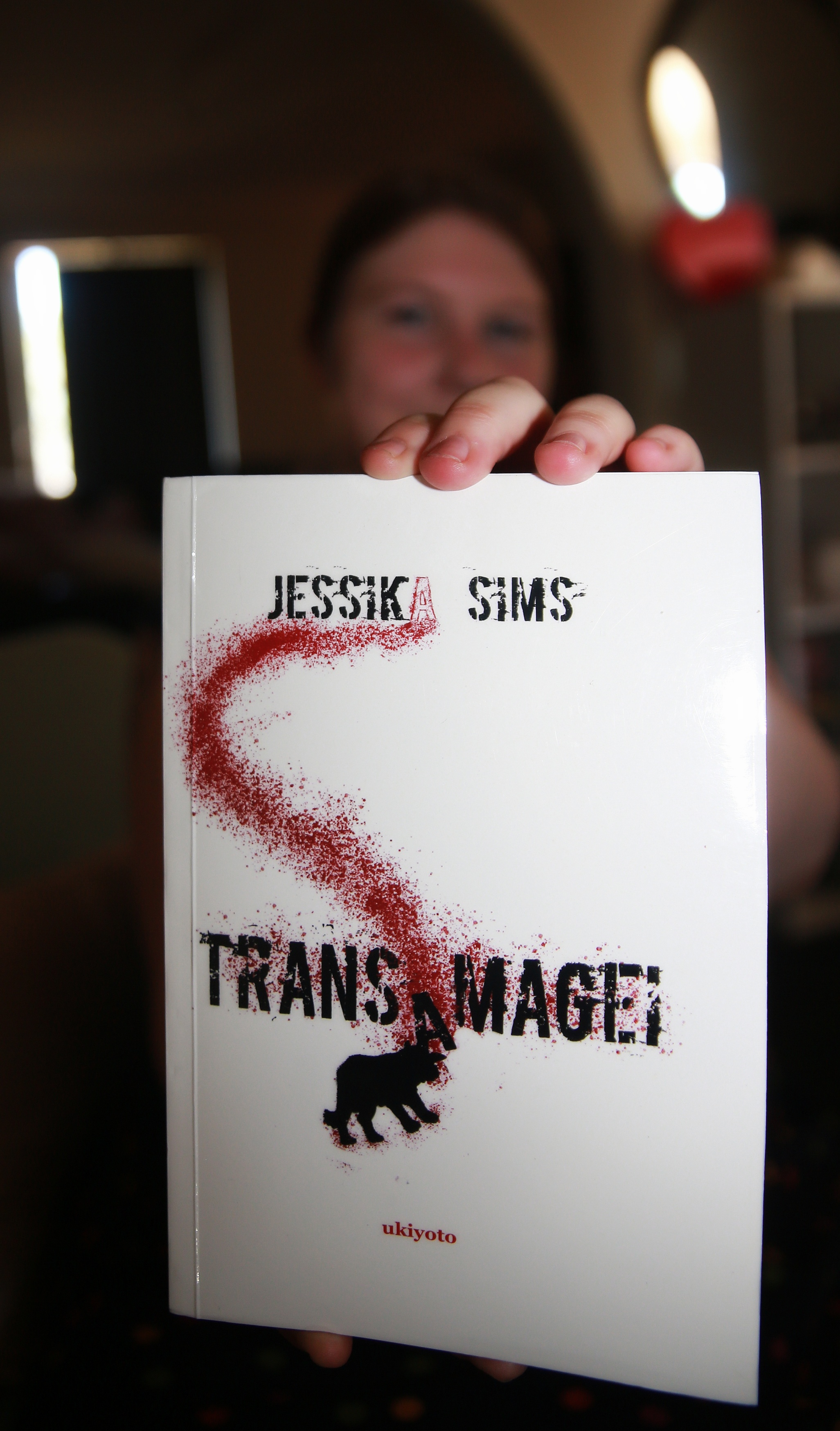 Release of horror title Transamagei by Jessika Sims in Halloween