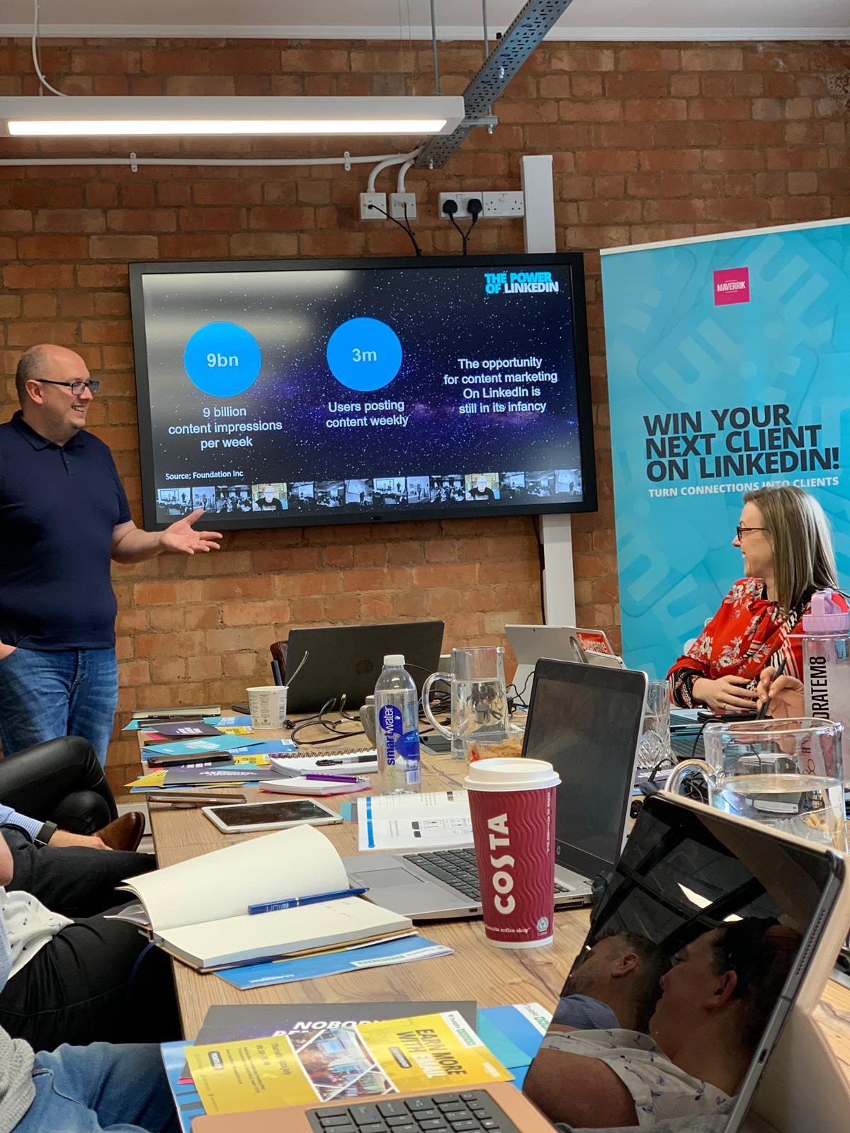 Maverrik launches Linked Academy