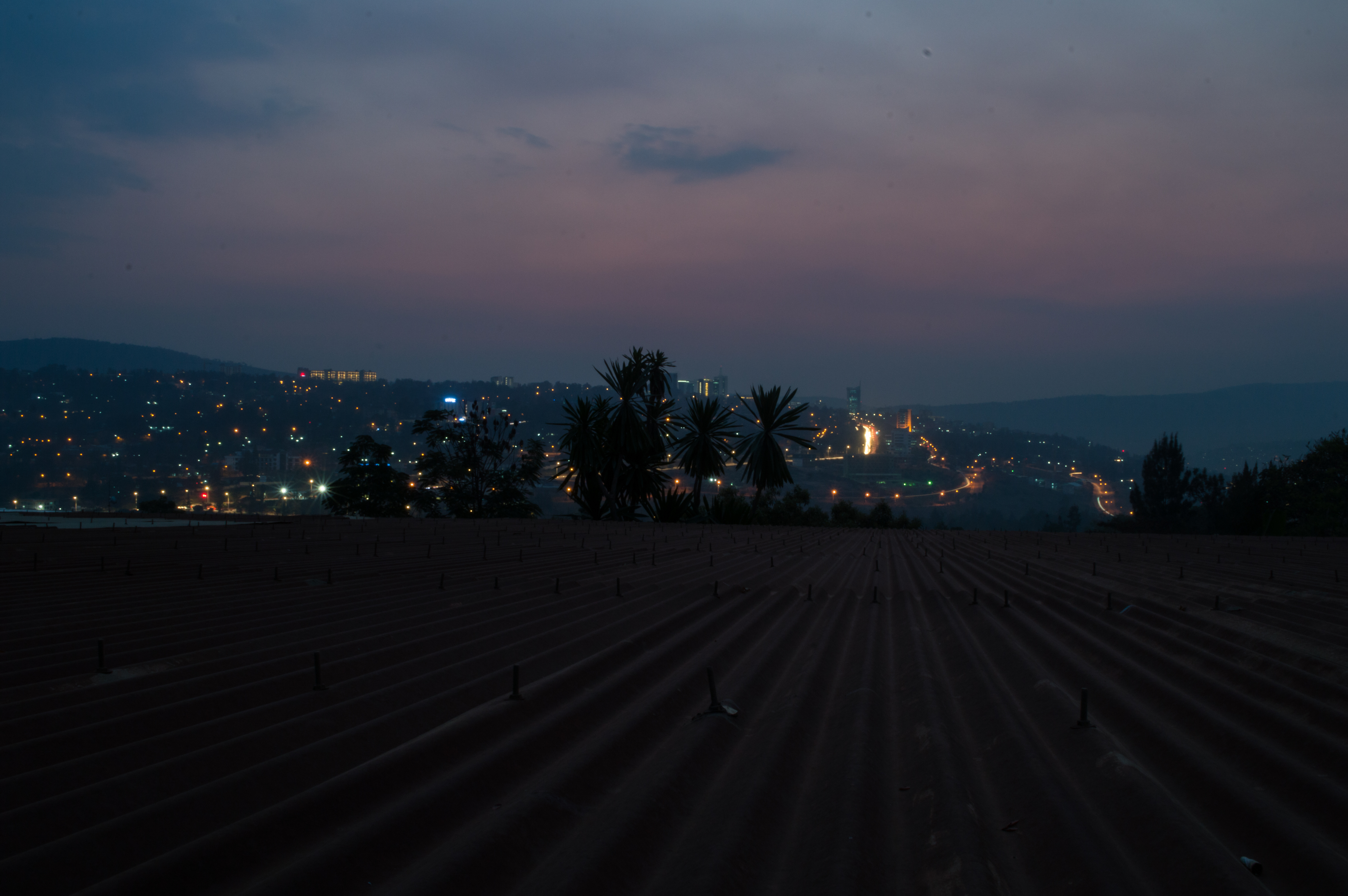 Kigali City by Night