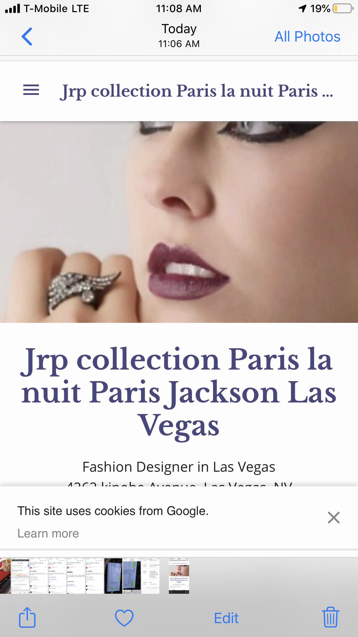 Jrp collection Paris
