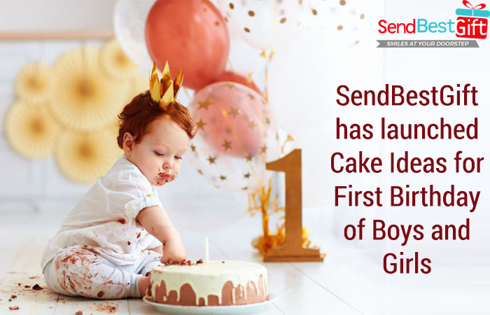 Tremendous Sendbestgift Has Launched Cake Ideas For First Birthday Of Boys Birthday Cards Printable Opercafe Filternl