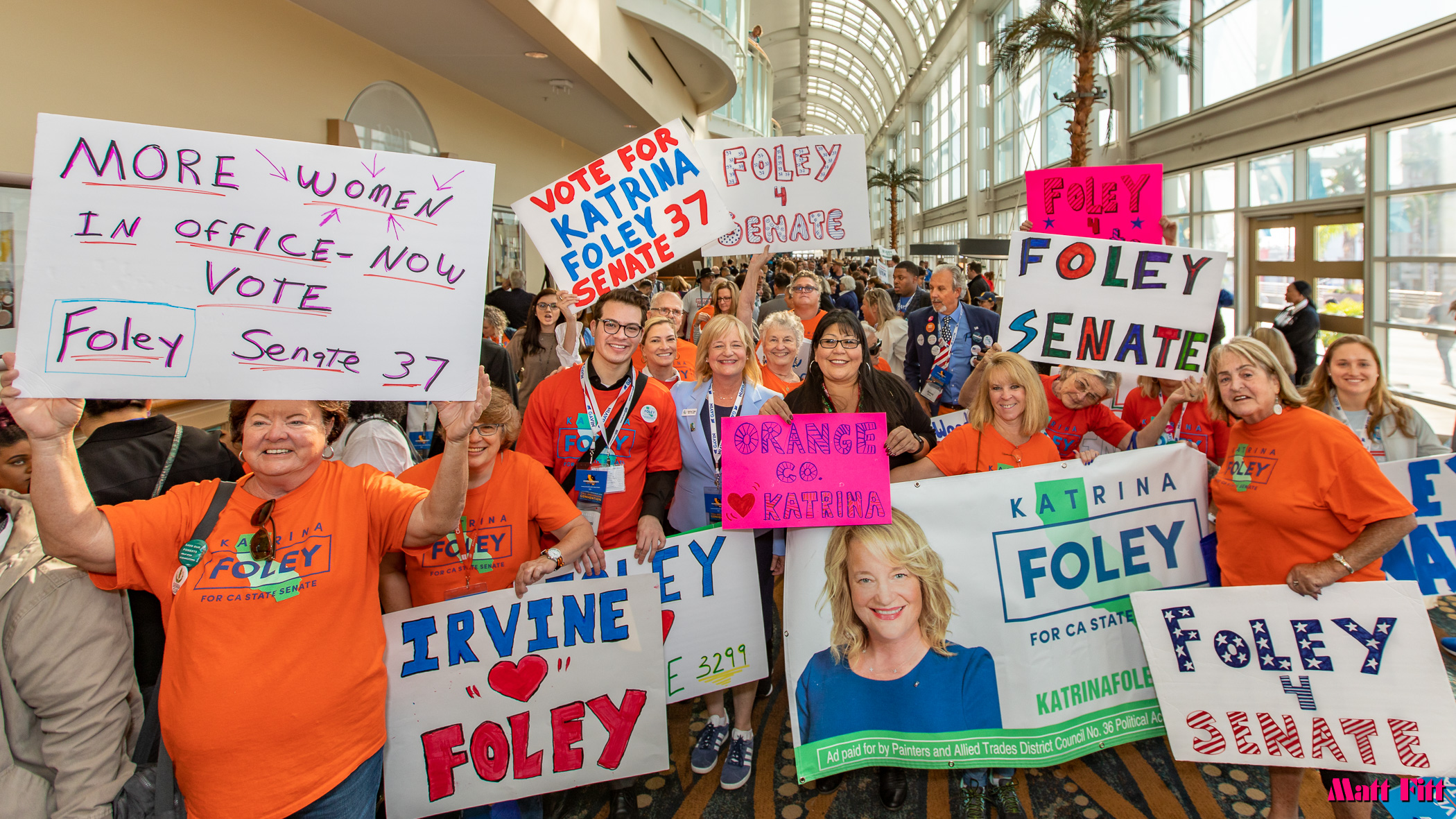 Put More Women in Office Now  Katrina Foley for State Senate