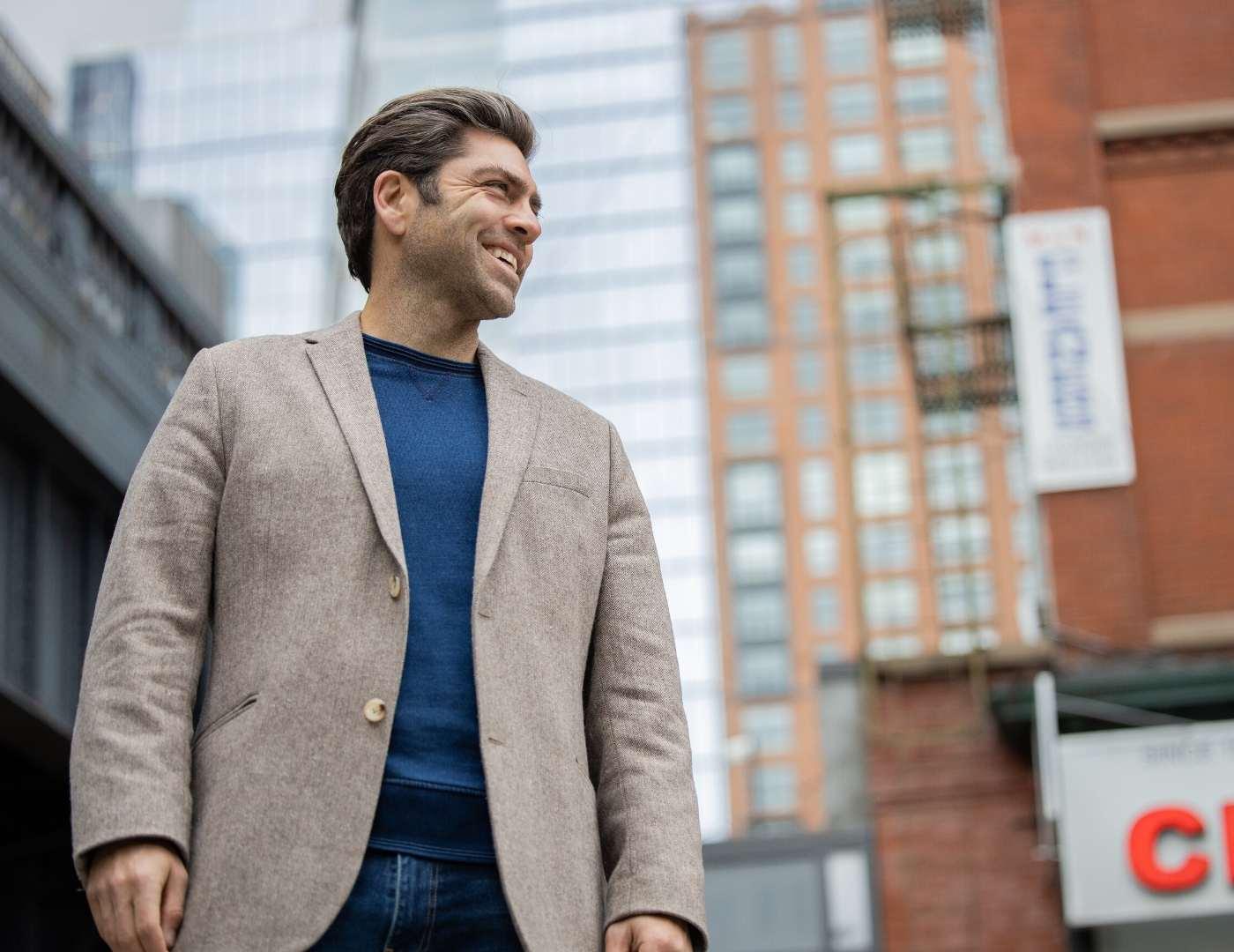 Josh Hotsenpiller in NYC