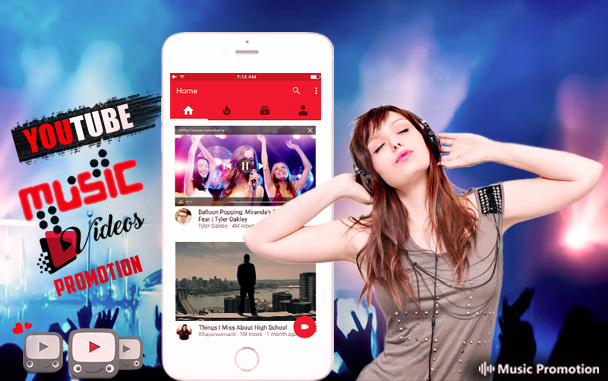 Music Promotion Club Launches Brand New Youtube Music Video Promotion Service Issuewire