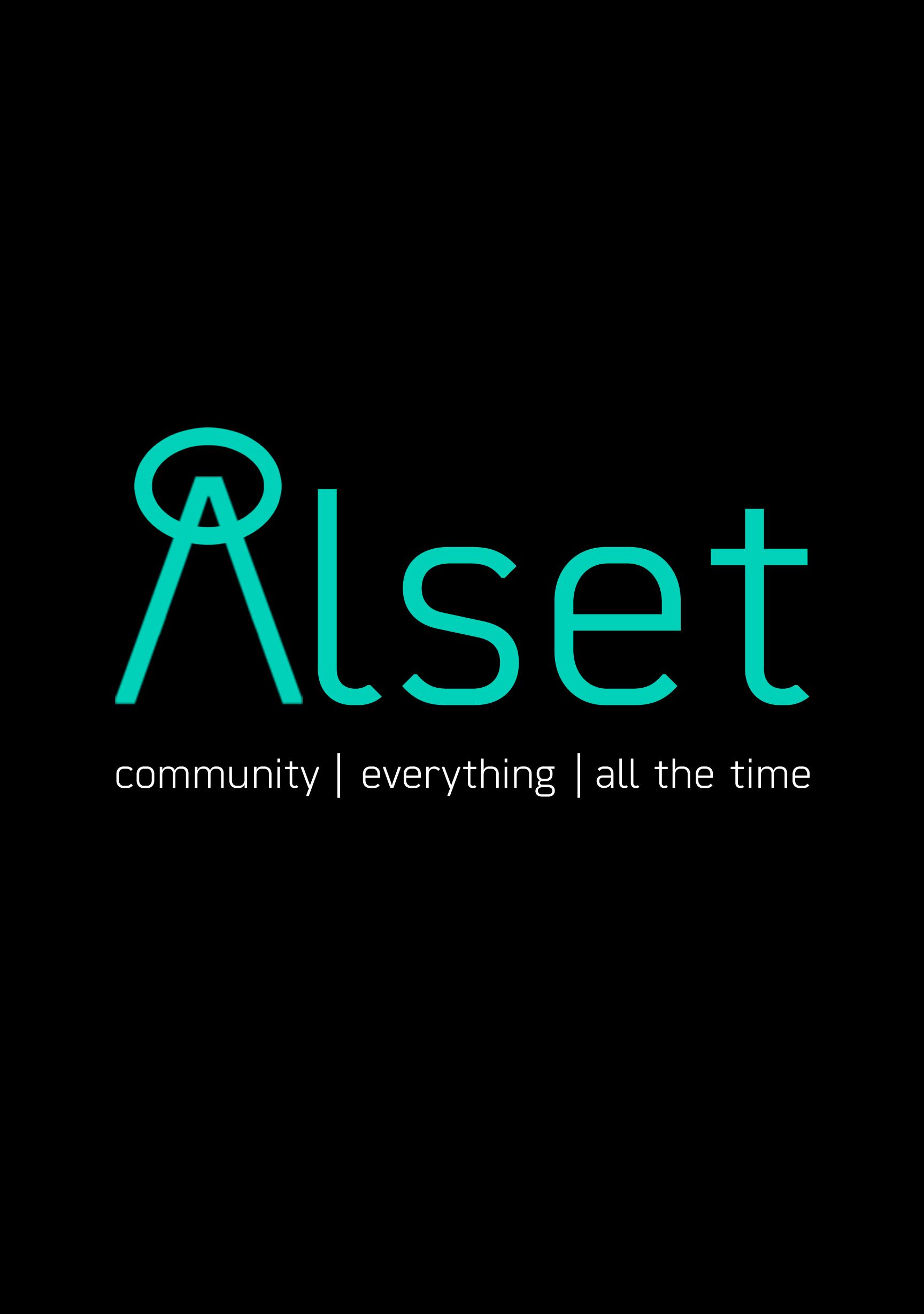 Alset Dark logo