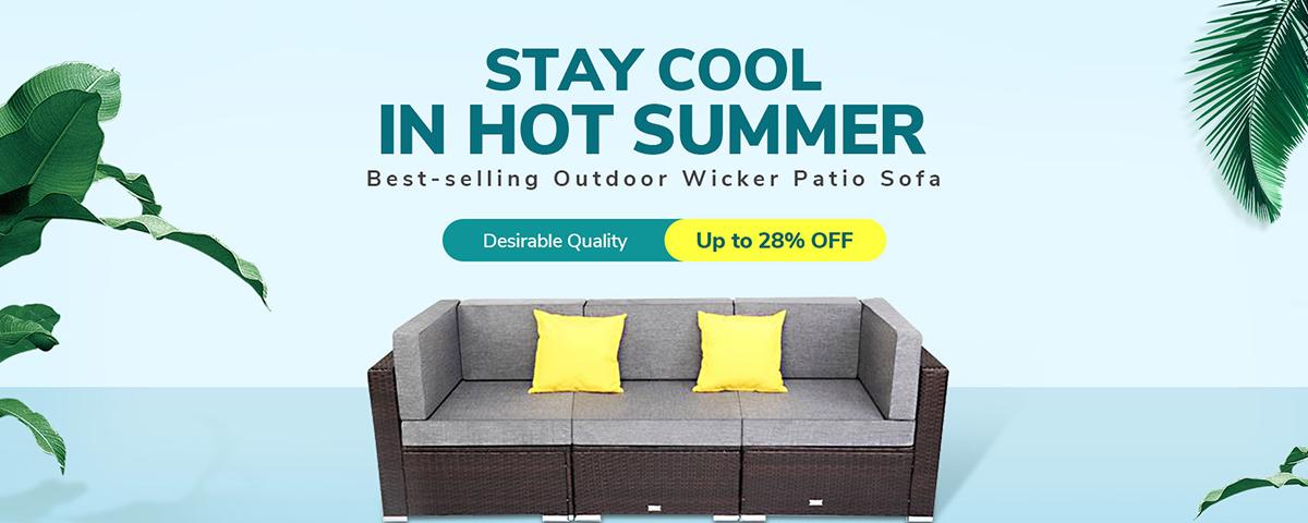 Sales of Outdoor Patio Sofas