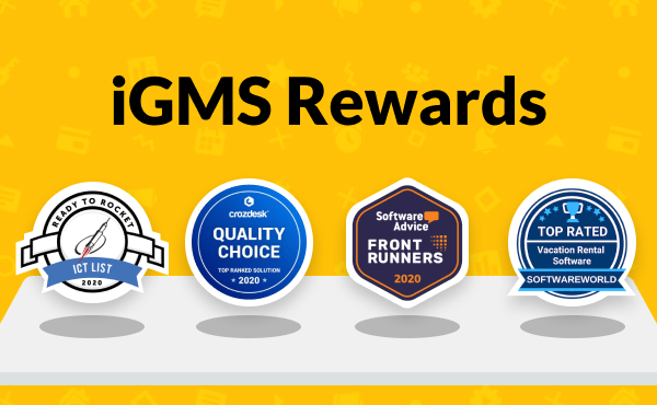 iGMS Wins 4 Awards for its Innovative Vacation Rental Software