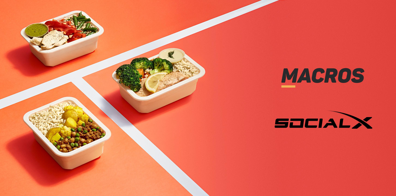 SocialX and Macros Meals Australia