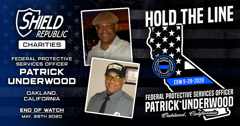Fundraiser for FPS Officer Patrick Underwood Shield Republic Charities