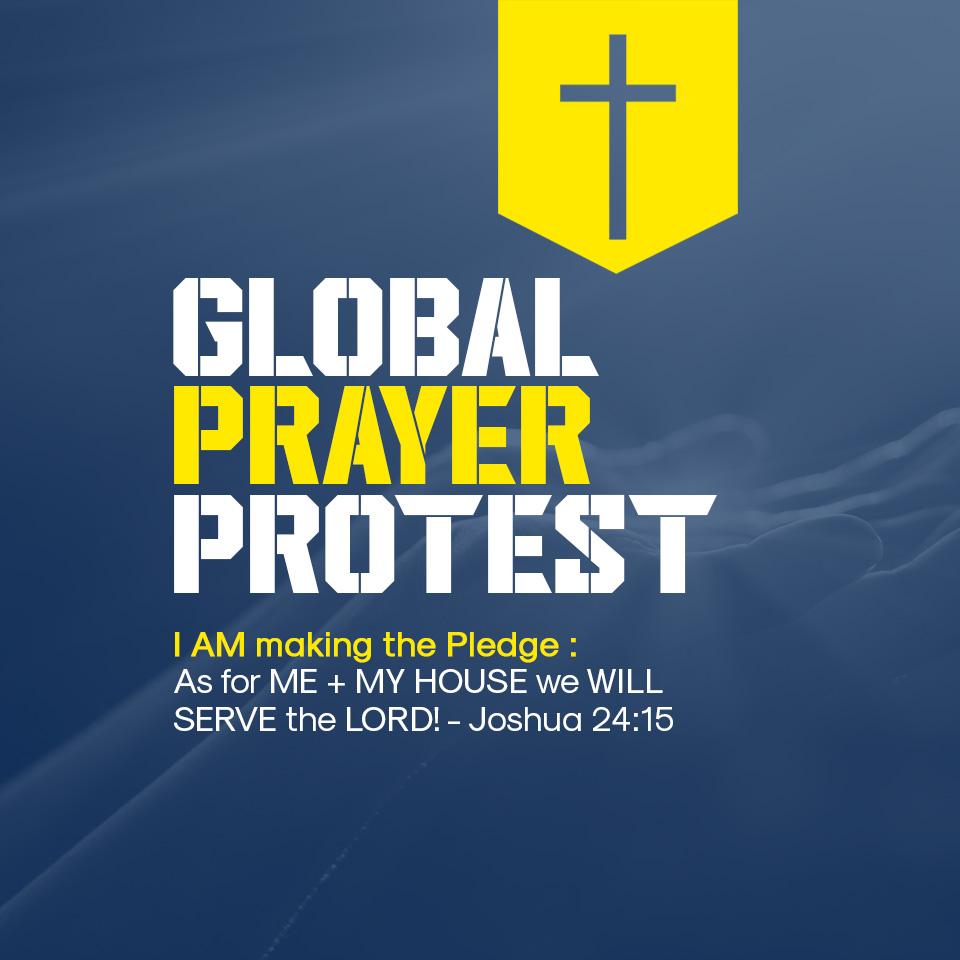 Global Prayer Protest Profile Pic