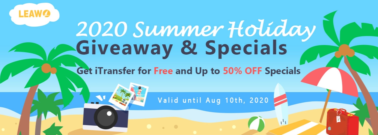 Leawo Summer Holiday Giveaway and Specials