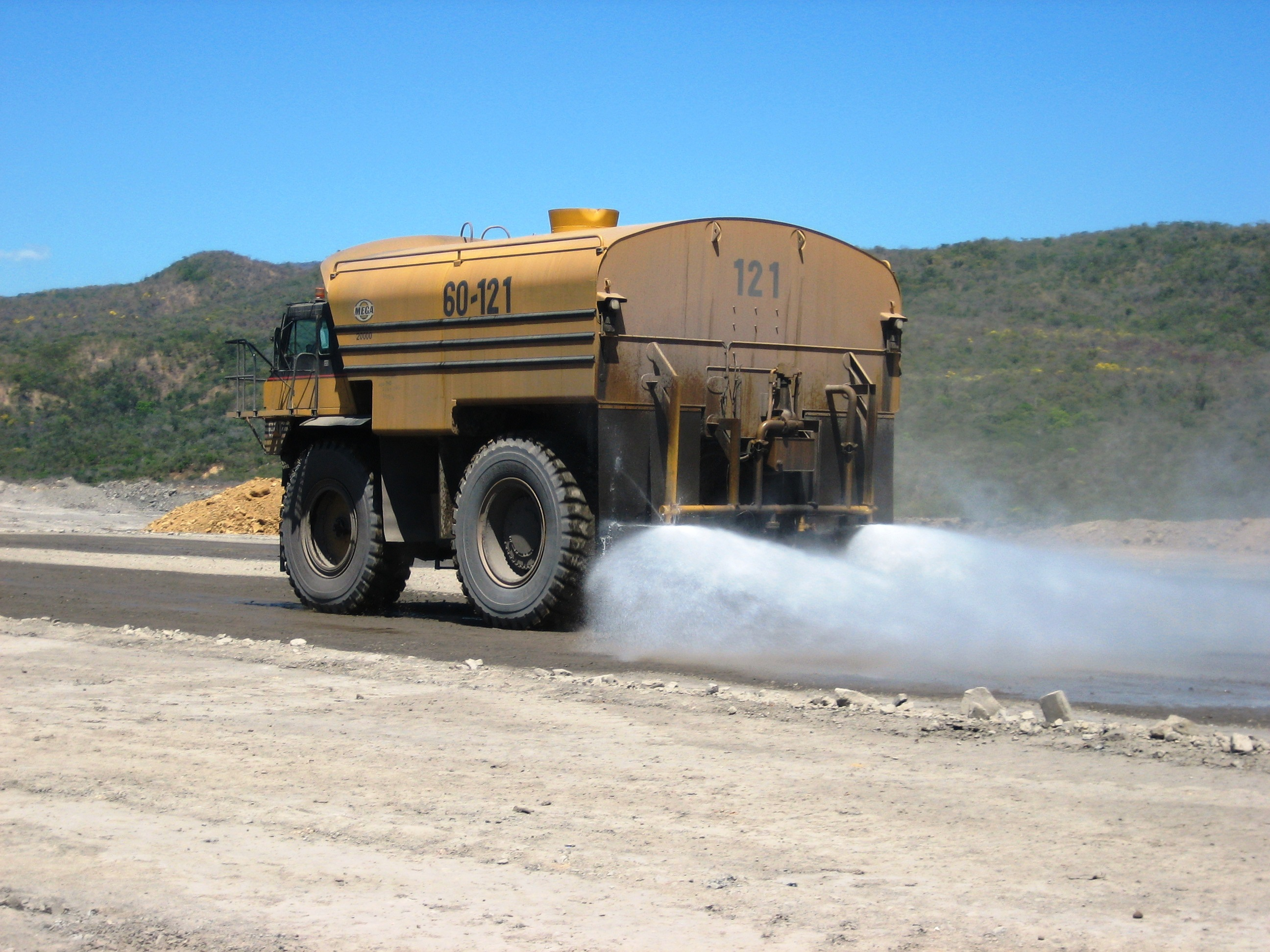 RST haul road stabilisers and dust suppressants boosting productivity at autonomous mines