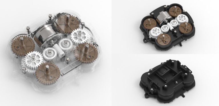 Gear Motor for Medical Massage